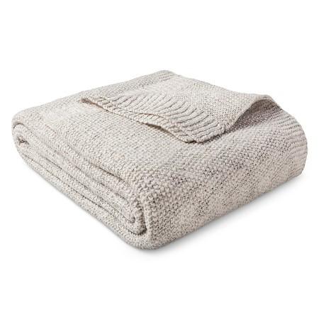 Target Sweater Knit Blanket