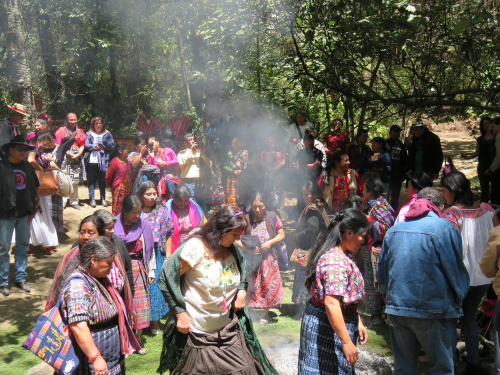Dancing after opening Ceremony in Guatemala.JPG