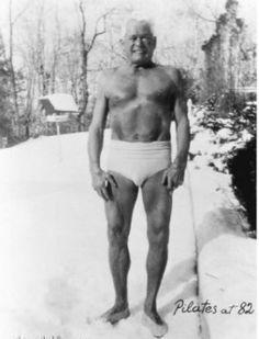 Joe Pilates, at age 82