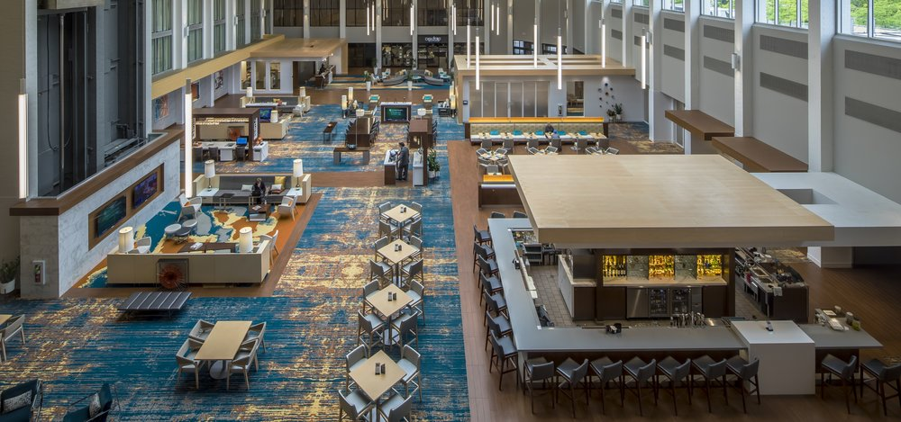 Ember & Vine, in the heart of the DoubleTree by Hilton Hotel Pittsburgh - Cranberry.