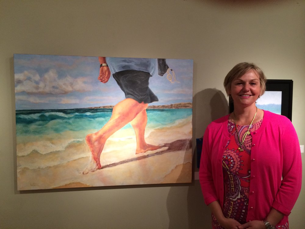 """2014 Best in Show at the Member Show at the AI&G, Salisbury, MD for """"Free On Friday"""""""
