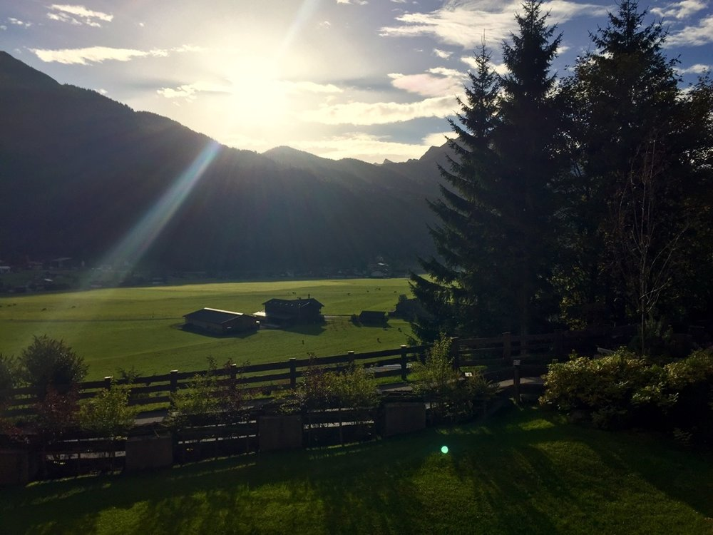 Sunrise in Tirol