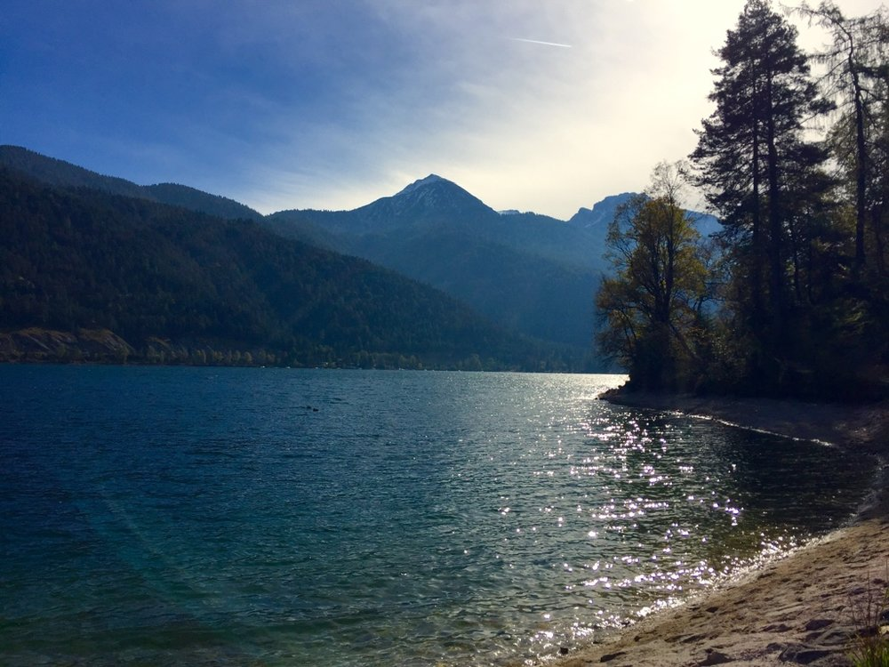 Achensee In Blue