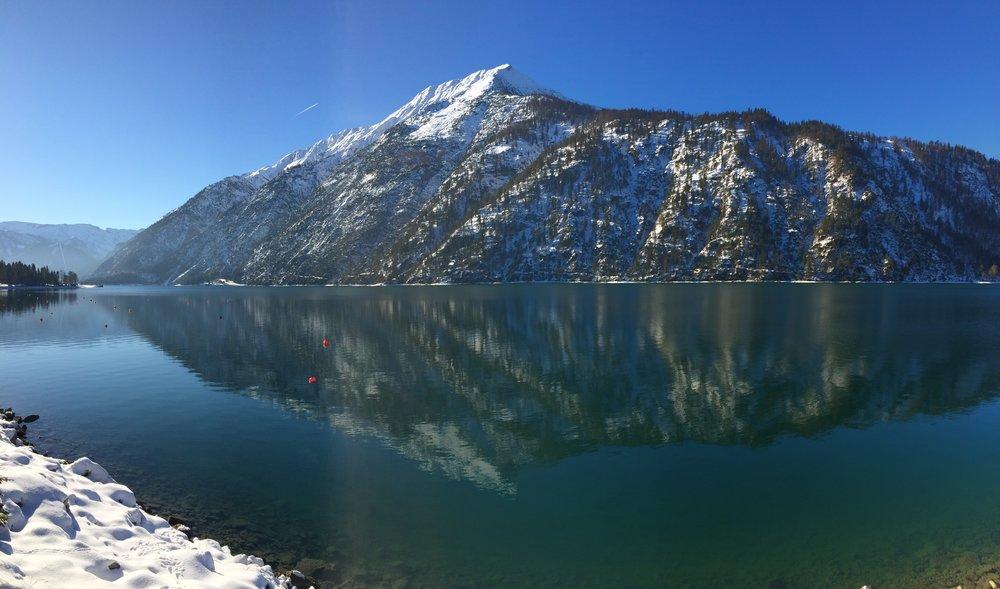 Achensee im Januar