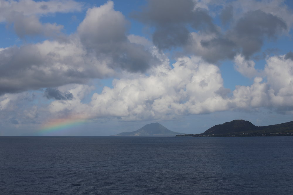 Rainbow Near Saint Kitts