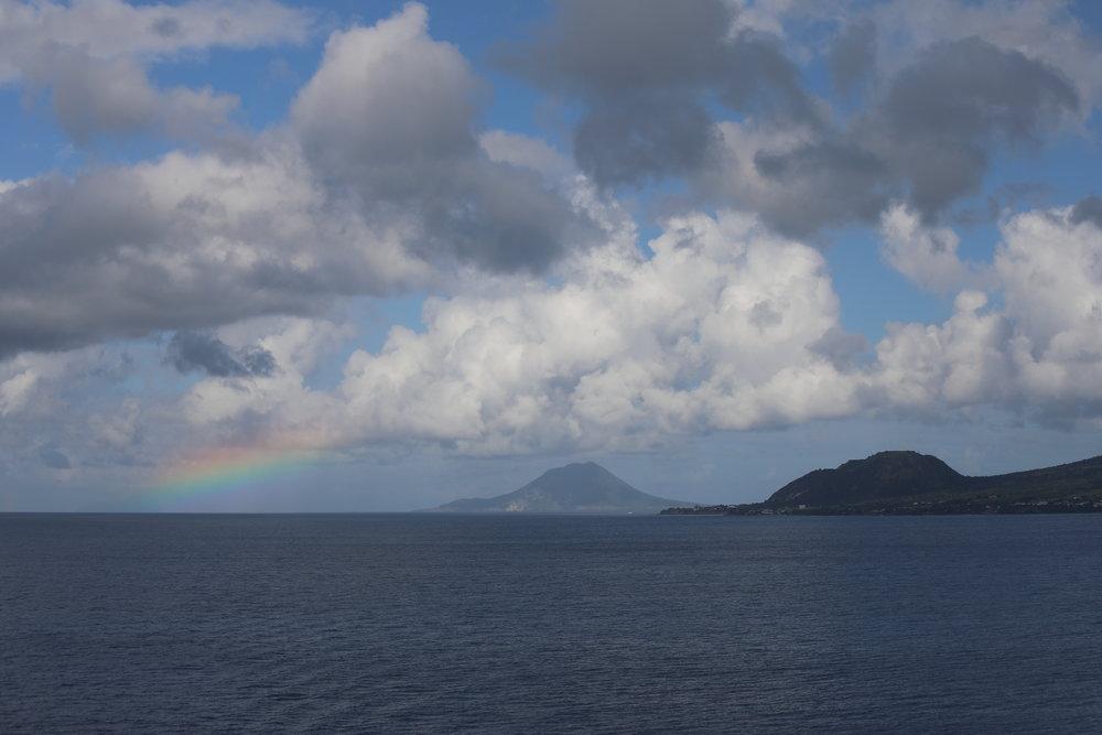 Rainbow Near Saint Kitts