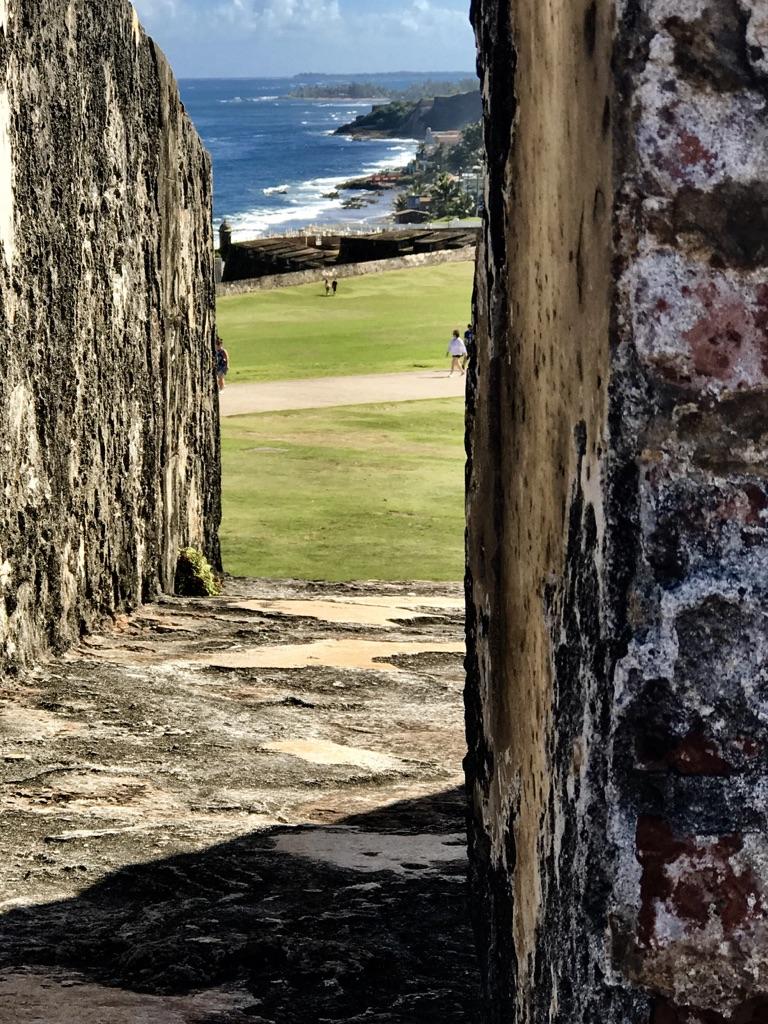 Castillo Del Morro Walls, San Juan