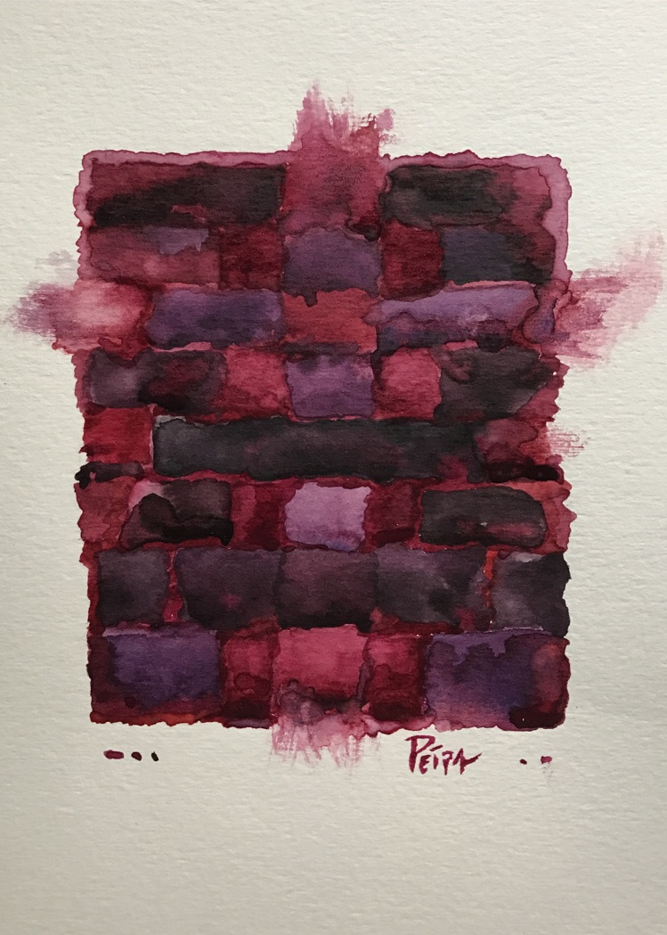 Mourning in Mauve No. 2