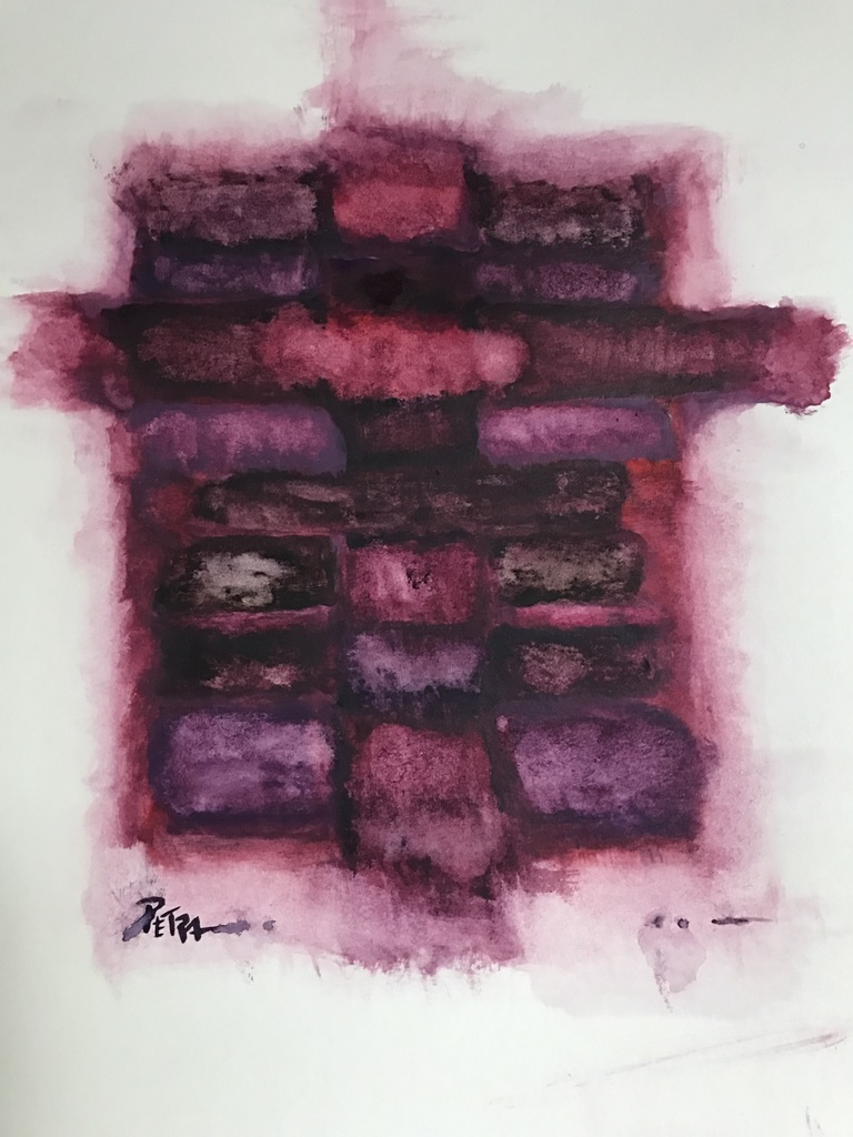 Mourning in Mauve No. 3