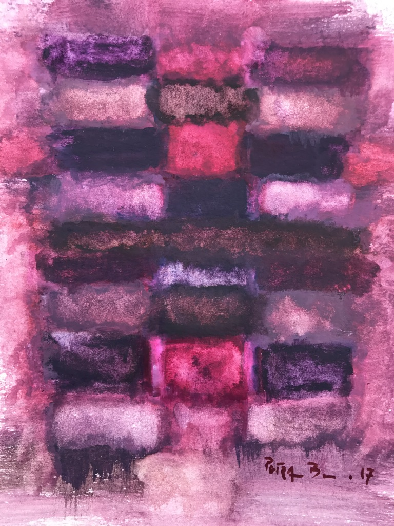 Mourning in Mauve No 4