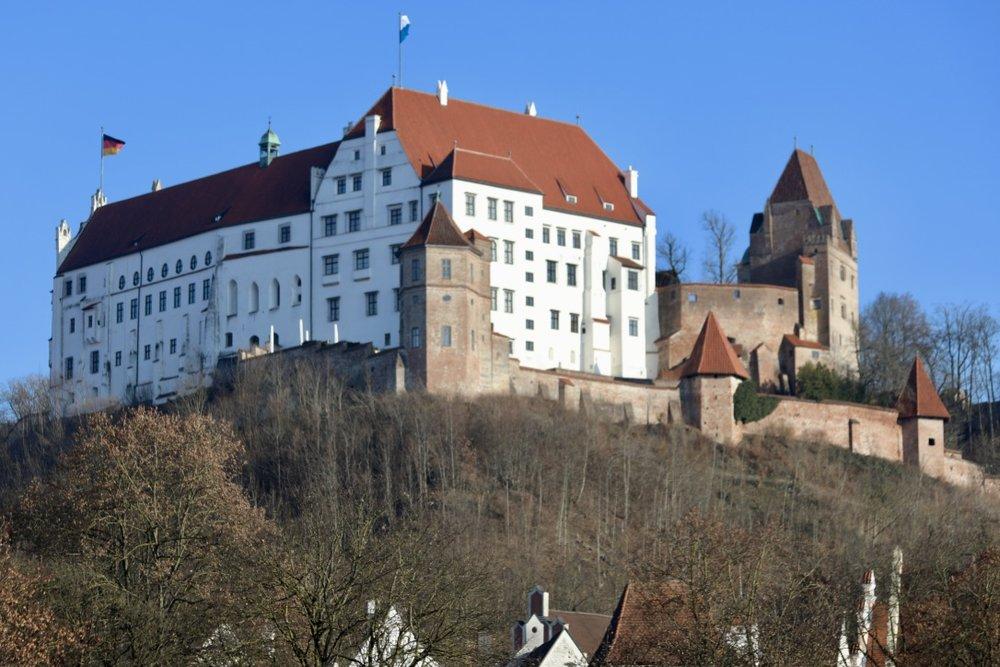 Burg Trausnitz Towering over Landshut