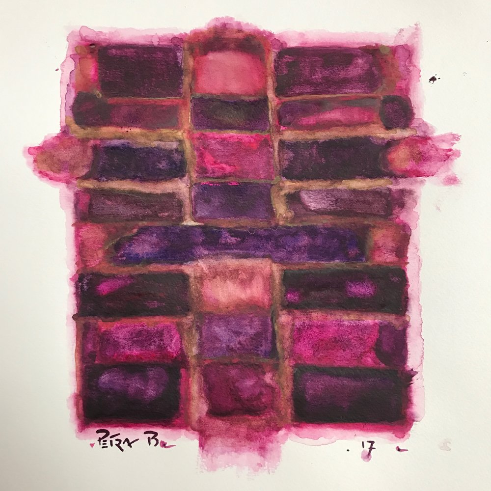 Mourning in Mauve No 5
