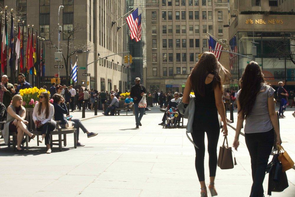 Springtime at Rockefeller Plaza II
