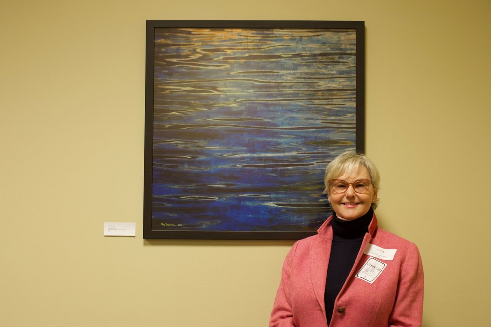 Opening Reception at the House of Delegates February 11, 2019. Juried Offsite Exhibition curated by the Maryland Federation of Arts in Annapolis, MD