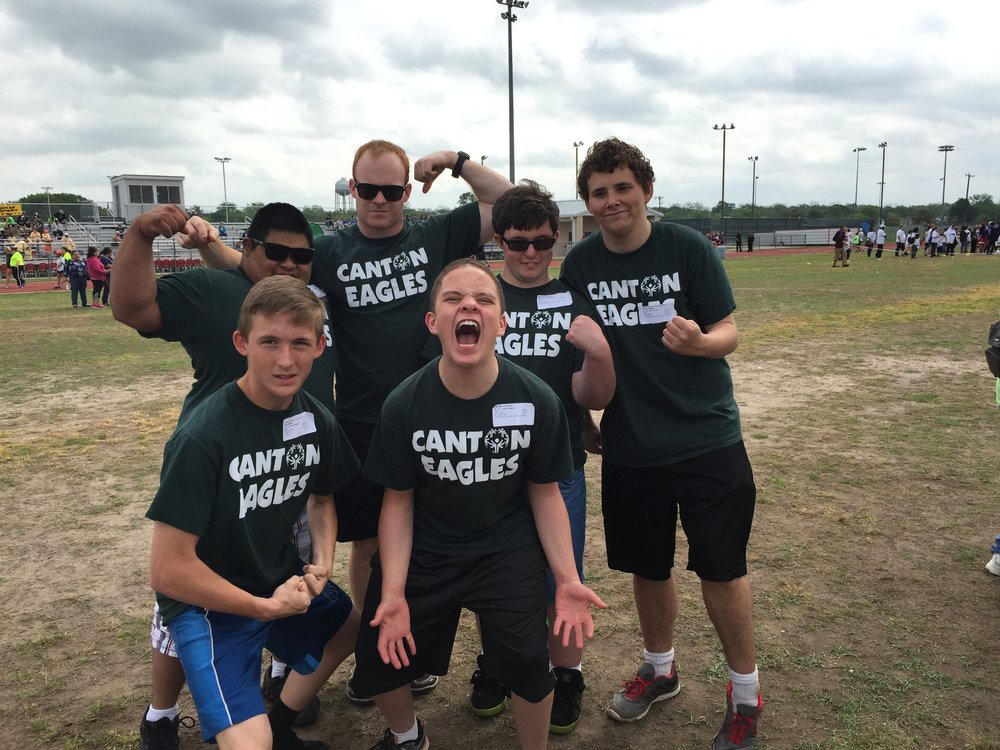 Canton Special Olympic Team