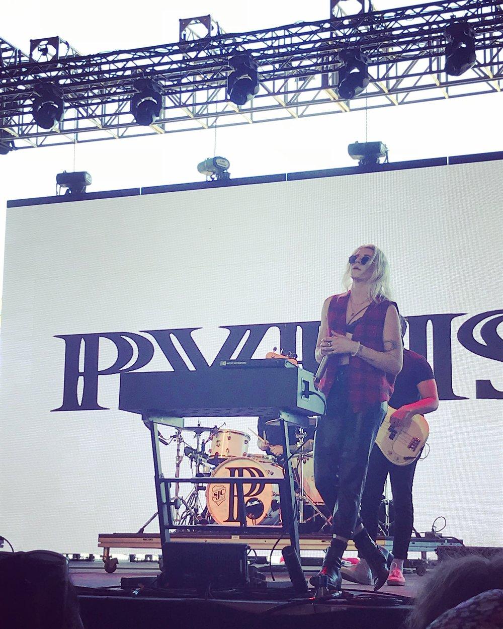 PVRIS on the Gobi Stage. Friday, April 20.