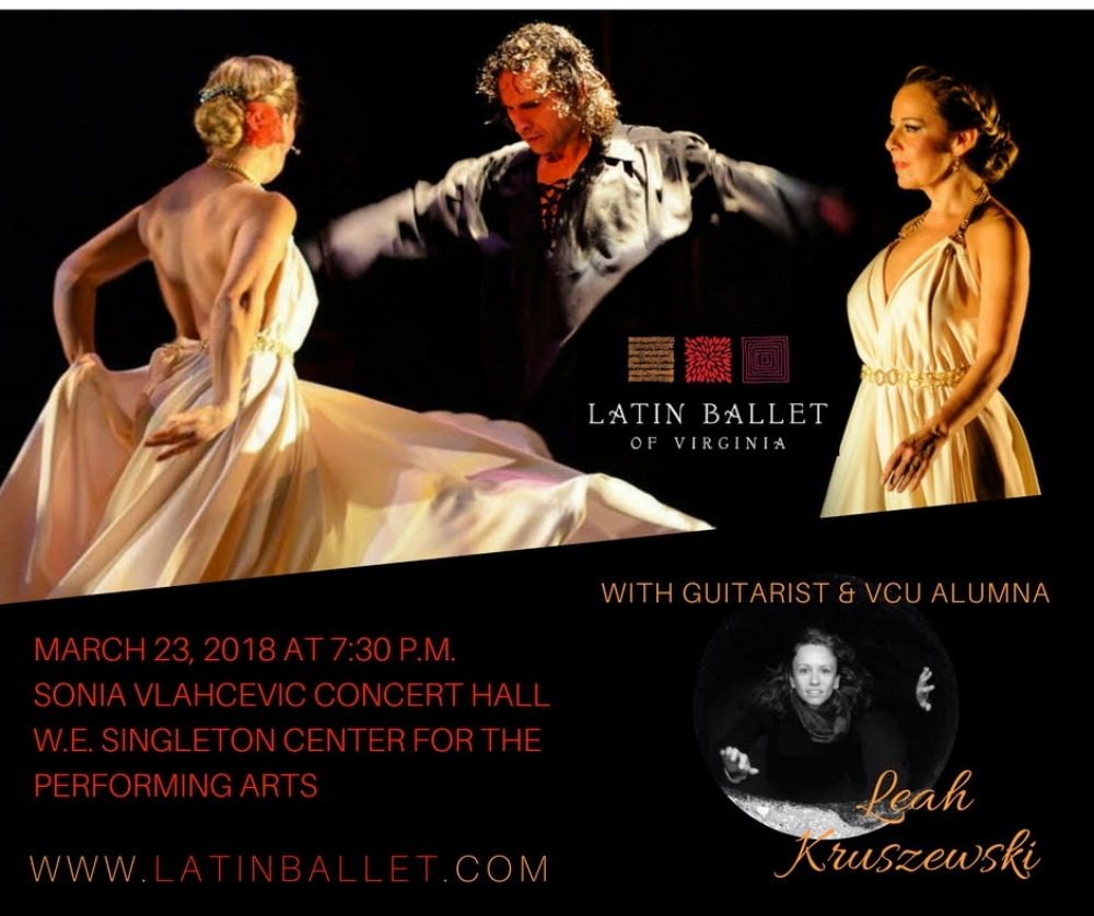 -   Featuring Flamenco guitarist Leah Kruszewski, Award winning dancers and choreographers, Ana Ines King and Francisco Mesa
