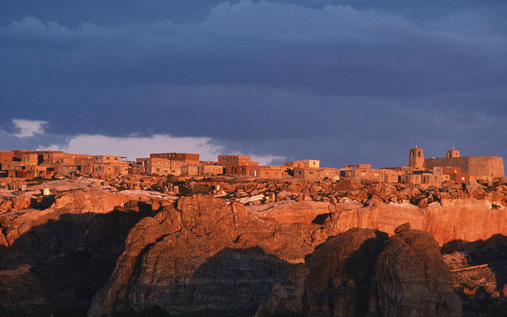 Acoma at Sunset