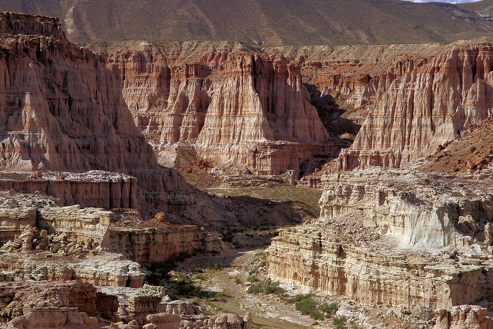 Walls of Red Canyon