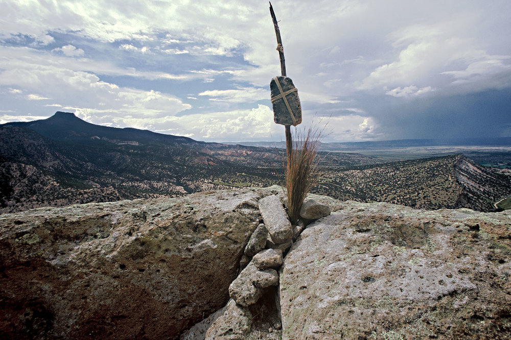 Tisiping Ruin, Piedra Lumbre, near Canones, NM