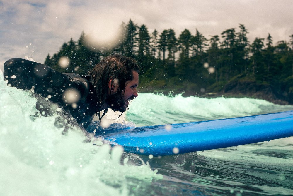 My only Image I was really happy with while shooting in Tofino