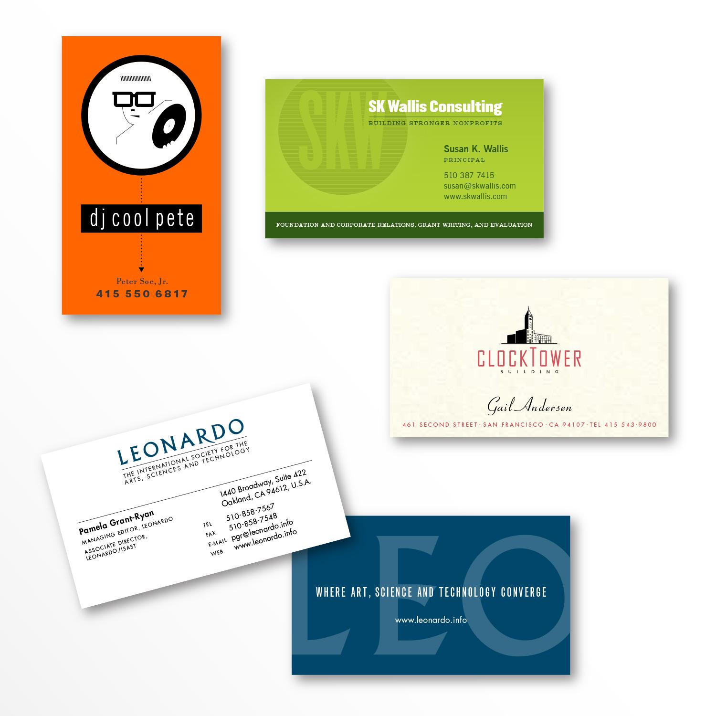 Business Cards — Peter Soe