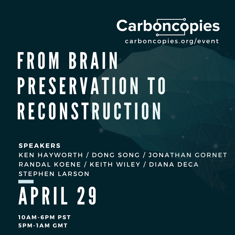 Carboncopies Foundation Spring 2018 Workshop, April 29, 2018
