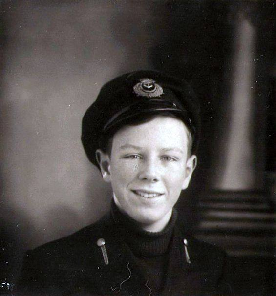 Circa 1943; My father as basis for main character Bill.