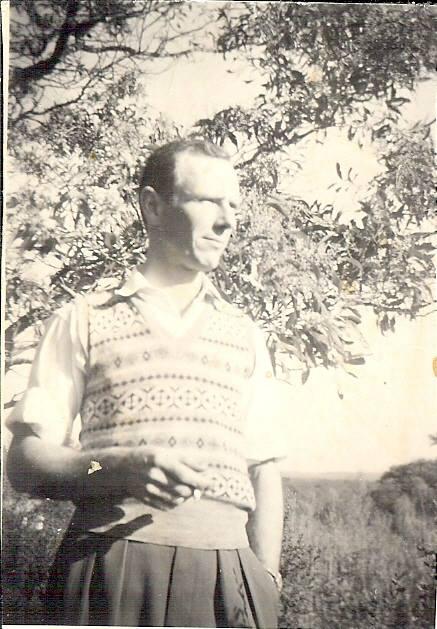 Circa 1958, my father