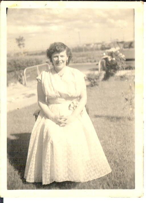 Circa 1958, my mother basis for character Myfanwy