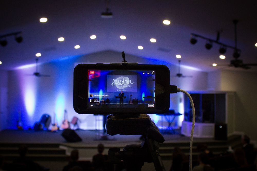 Watch us live! - Our services are live streamed each week through Facebook Live! Click the link below to watch.