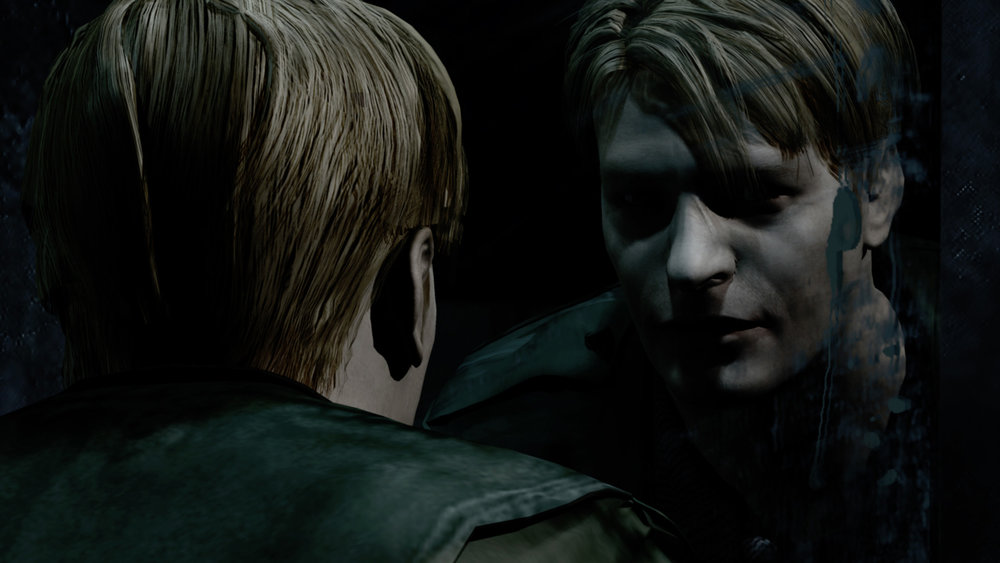 Photo from Silent Hill 2 game: James