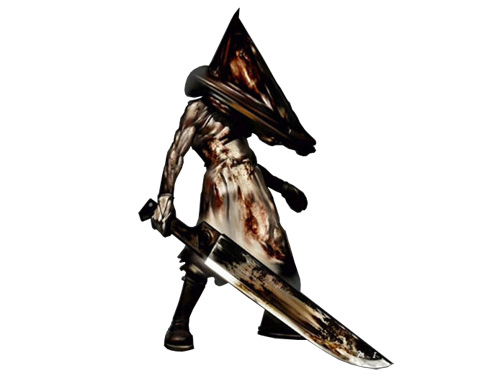"""Pyramid Head"" from the Silent Hill 2 game"