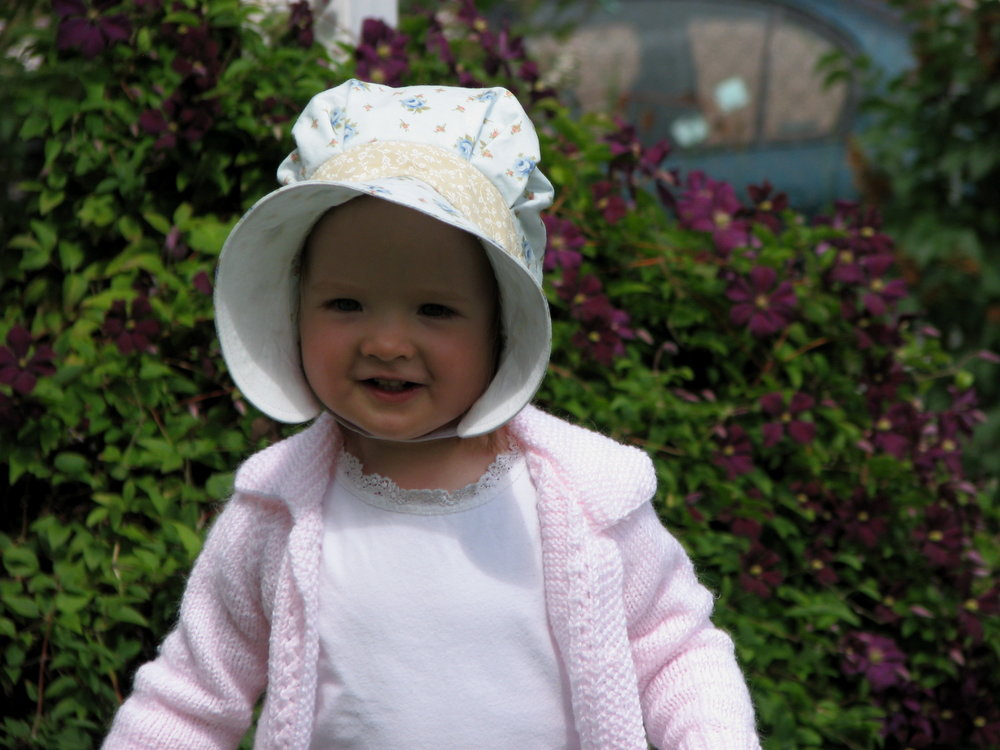 Megaluno Studio Summer Bonnet Sewing pattern