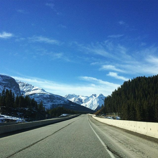 Fun: day 4 of #bpsewvember  Today's fun was driving this road! Alberta to BC through the Rockies, and it was a glorious day!  @bimbleandpimble #beautifulbc