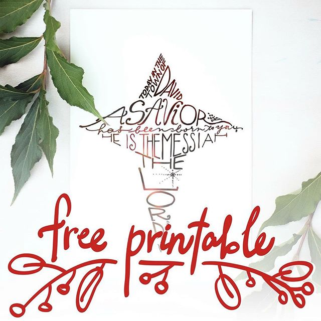 I made a Christmas printable, and it's free! 😁 Link in profile. If you want to see more like this, I've created a new IG account for my Etsy shop, JudithMegMakes. @judithmegmakes