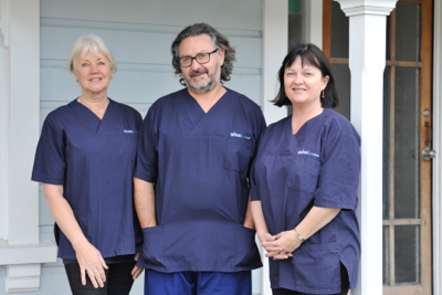 Mr. Rick Cirolli MD. Specialist in General & Emergency Surgery, Affiliated FACP (Fellow of Australasian College of Phlebology)  Dr Karen Parker MBChB FASBP  Vascular Sonographer Ms Bronwen Allen DSR (Diploma Society Radiography), DMU II (Diploma Medical Ultrasound)