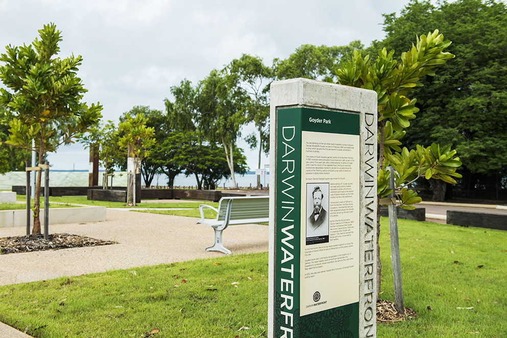 Darwin Waterfront Precinct.
