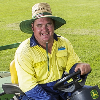 Kane Rogers  Grounds Area Manager