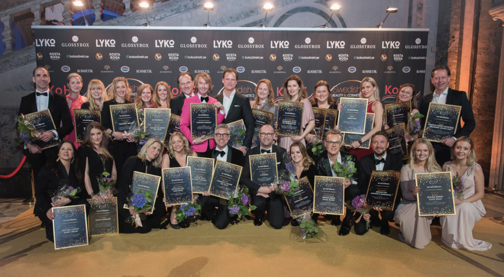 Swedish Beauty & Cosmetics Awards vinnare 2017