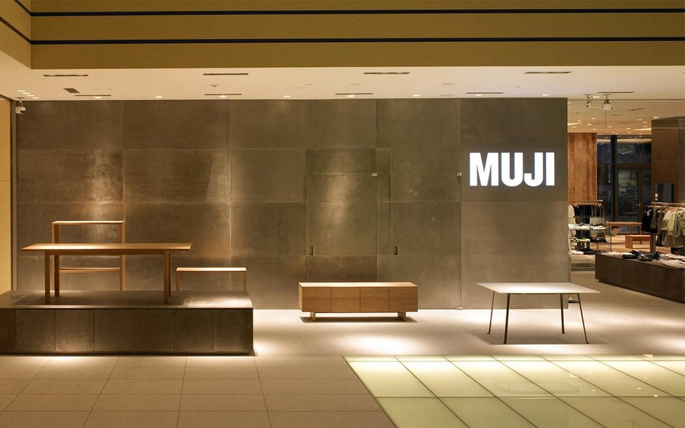 - Muji's premise and allure is represented strongly by its reserved design aesthetic and palette. Being committed to solving everyday challenges, they undertake research to fix to everyday problems — and have won over millions of fans in the process.
