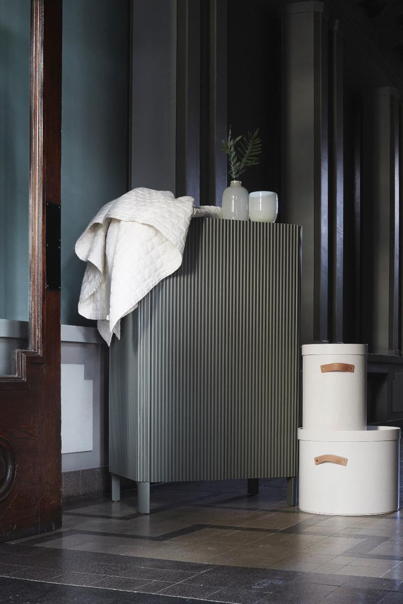 Glorian Koti 9/2018 esitelty vaatekaappi on tehty Ikean runkoon.