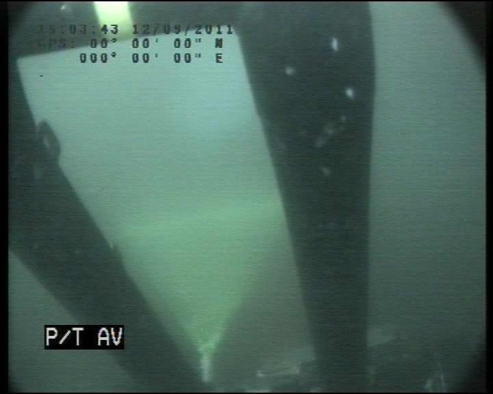 Savante Subsea and Underwater Lumeneye Laser Module used aboard a trencher