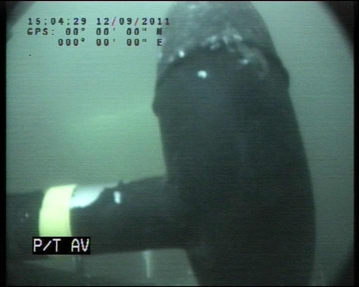 Trenching operations with Savante Subsea's Lumeneye Laser Module