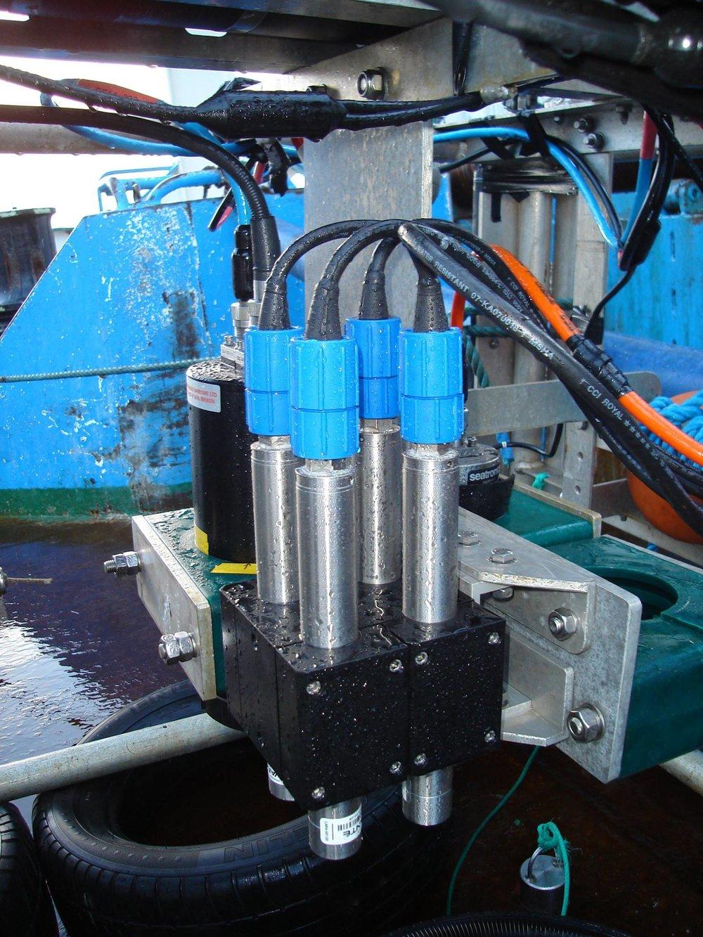 Savante Subsea Lumeneye Underwater Laser used in Environmental Seabed Survey