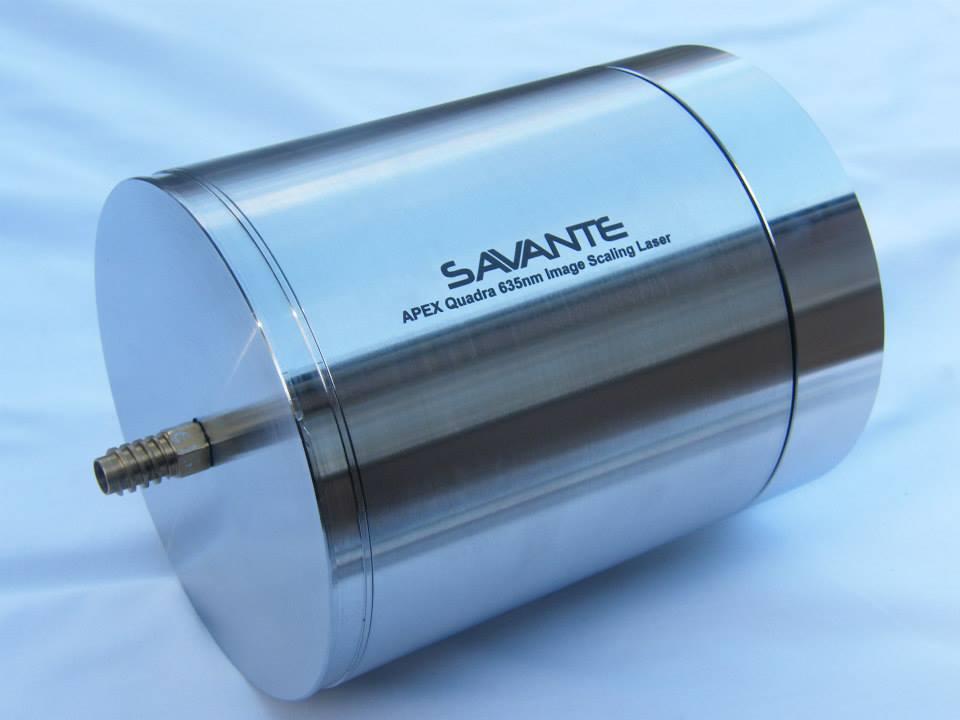 Savante Subsea's APEX Underwater laser image scaling module