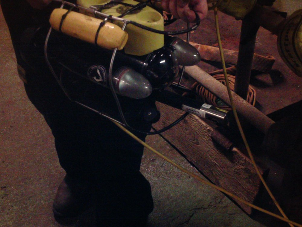 Savante's disruptive SLV-50 system mounted beneath a micro-ROV and delivers seabed mapping data at 30 profiles/sec.  Deployment from a micro-ROV enables new areas of inspection such as within the cells of a production storage unit.