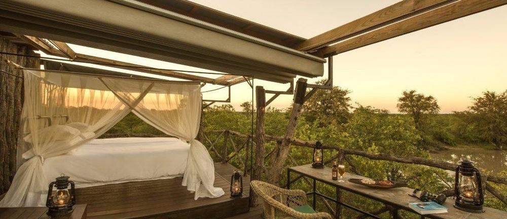 Terrasse de chambre Motswari