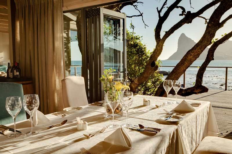 Déjeuner en Terrasse Tintswalo Atlantic
