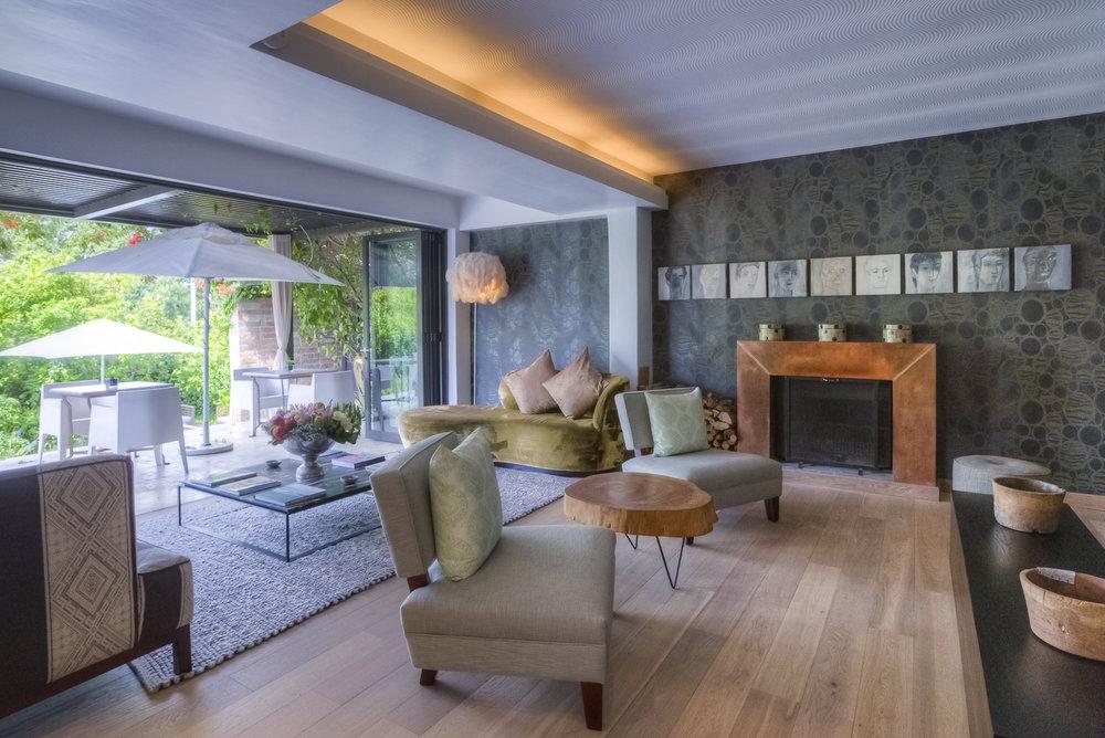 Salon avec Vue Terrasse Kensington Place